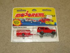 Majorette Double #376 Range Rover Fire Engine + Tanker Rescue Team 116 1:64 MOC