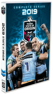 BRAND NEW State of Origin 2019 DVD - New South Wales Blues vs Queensland Maroons