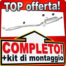 Scarico Completo PEUGEOT 206 CC 2.0 S16 Cabrio Coupe 2000-2005 Marmitta 701