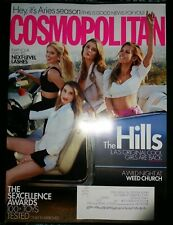 THE HILLS Cosmopolitan Magazine April 2019 Lauren Conrad Heidi Montag MINT NEW