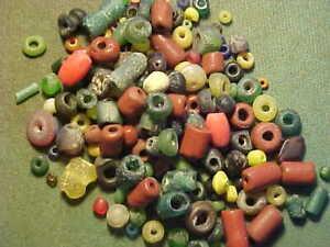 100 -150 Small Roman beads  circa 1st-4th century AD.