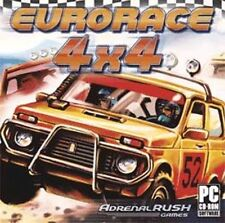 EuroRace 4x4   Speed through 10 international tracks   Win 7 Vista XP NEW