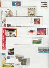 GERMANY 10 different postal stationery commemorative envelopes **