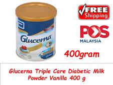 Glucerna Triple Care Diabetic Milk Powder Vanilla 400g FREE SHIPPING