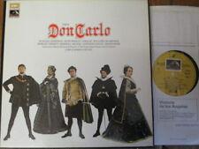 SLS 956 Verdi Don Carlo / Domingo / Giulini / ROHO etc. 4 LP box