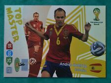 2014 ADRENALYN WORLD CUP; TOP MASTER  - ANDRES INiESTA - SPAIN