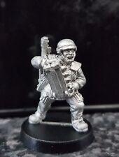 Warhammer40k Imperial guard/Astra Militarium Cadian Autocannon Loader Metal Oop