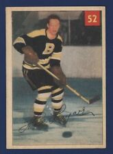 1954-55 Parkhurst HAL LAYCOE #52 Ex+ Boston BRUINS *Prem. Back* !!