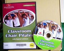 CLASSROOM CHAIR PILATES Karen Lanman exercise DVD children's fitness 2011