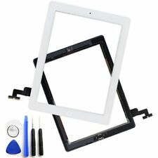 Glass Touch Screen Digitizer + Home Button Assembly for iPad 2 White + Tool Kit