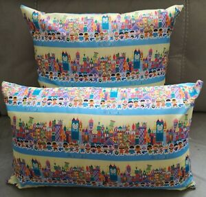 Disney It's A Small World Characters Cushion - 2 sizes available