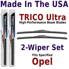 Buy American: TRICO Ultra 2-Wiper Blade Set fits listed Opel: 13-18-18