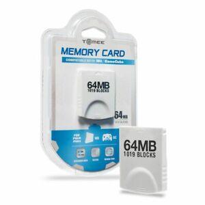 Hyperkin 64MB Memory Card 1019 Blocks For Nintendo Wii GameCube - Brand New