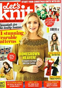 Let's Knit Magazine Issue 123 October 2017
