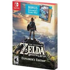 The Legend of Zelda: Breath of the Wild Explorer's Edition - Nintendo Switch