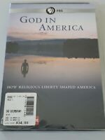 GOD IN AMERICA How Religious Liberty Shaped America PBS Frontline 3 DVD SET