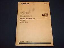 CAT CATERPILLAR 966G SERIES II WHEEL LOADER PARTS BOOK MANUAL S/N ANT1-UP