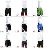 Men's Cycling Bib Shorts 3D Pad Man Outdoor Sports Riding Bicycle Short Pants