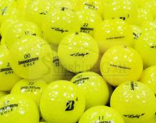 50 AAA Bridgestone Lady Precept Yellow Used Golf Ball (3A) - FREE SHIPPING