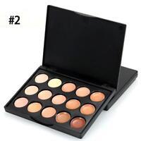 15 Colours Eyeshadow Eye Shadow Camouflage Cream Contour Palette Makeup Kit Set