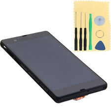 Full LCD Touch Screen Digitizer w/Frame for Sony Xperia Z L36H C6603 C6602 Black