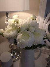 Flores De Seda sintética artificial Peonía peonías 2 Cabeza Vástago Boda Hogar Decoración x4
