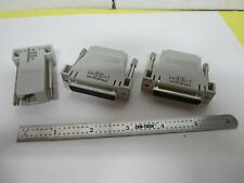 LOT 3 EA CONNECTOR ADAPTERS DB9 DB25 PHONE TAP AS PICTURED BIN#H1-39
