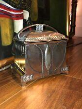 Rare Antique Art Nouveau WMF German Silver Plate Jewelry Box/Casket