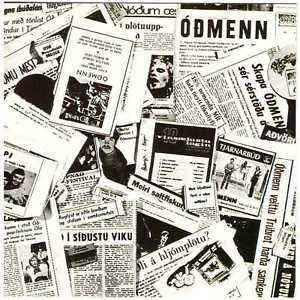 ODMENN s/t CD 1970s Icelandic Psych/Hard Rock – 1st CD Press, on Skifan, Óðmenn