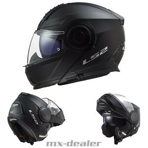 2021 LS2 FF902 Scope Klapphelm Motorrad Helm Solid Matt Schwarz Tourenhelm Urban