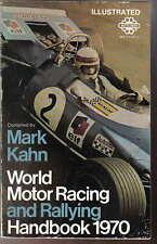 World Motor Racing & Rallying Handbook 1970 compiled by Mark Kahn