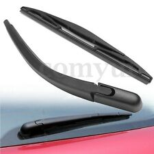 WINDSCREEN REAR WIPER BLADE WITH ARM SET FOR PEUGEOT 107 CITROEN C1 TOYOTA  //