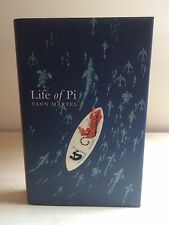 The Life of Pi, Yann Martel, Canongate, 2002, First Edition First Impression