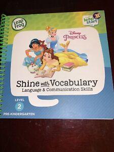 LeapFrog LeapStart 3d Disney Princess Shine With Vocabulary