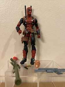 "Marvel Legends Hasbro Loose Deadpool Figure 6"" Juggernaut BAF"
