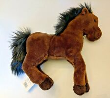 Steiff 070716 Hanno Dangling Hanoverian 35 Braun  - Stuffed Animal Horse