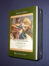 Teaching Co Great Courses DVDs      STRING QUARTETS of BEETHOVEN    new & sealed