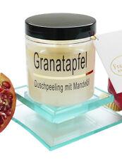 (€52,66/kg) Körperpeeling Salz Granatapfel Duft Peeling mit Mandelöl, Scrub 320g