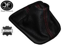 Manual de Cuero Rojo Puntada Gear Polaina se ajusta Seat Ibiza Cordoba MK3 TDI 02-08