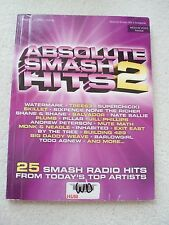25 Smash Radio Hits Today's Top Artists Med Voice Piano Guitar Unmarked