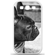 Coque housse étui tpu gel motif bulldog Samsung Galaxy S3 i9300