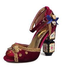 SZ35-43 Rhinestone Pearl Women's Open Toe Chunky Party High Heel Shoes Sandals