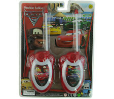 DISNEY CARS PIXAR MCQUEEN ELECTRONIC WALKIE TALKIE PLAY SET KID BOY CHILDREN TOY