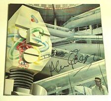 THE ALAN PARSONS PROJECT ALAN & IAN BAIRNSON SIGNED I ROBOT LP ALBUM COVER w/COA