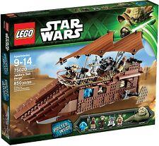 LEGO STAR WARS 75020 - JABBA'S SAIL BARGE - RETIRED SET - NEW - MELB SELLER