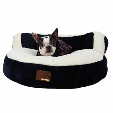 Puppia Colosseum Bed Bed Navy Blue