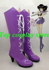 Sailor Moon Sailor Saturn Tomoe Hotaru Cosplay Shoes boots Ver shoe boot
