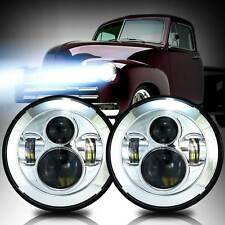 DOT 7inch Round LED H4 Headlight for Chevy Pickup Truck 3100 Patriot Liberty JK