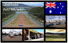 CANBERRA, AUSTRALIEN - SOUVENIR NEUHEIT KÜHLSCHRANK-MAGNET / WEIHNACHTEN