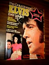 Elvis Magazine 1977 The only Woman ELVIS ever loved Priscilla her Story